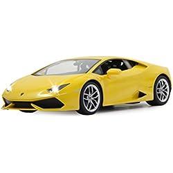 Jamara Lamborghini Huracan - juguetes de control remoto (Alcalino, AA, 31,9 cm, 16 cm, 8,5 cm) Amarillo