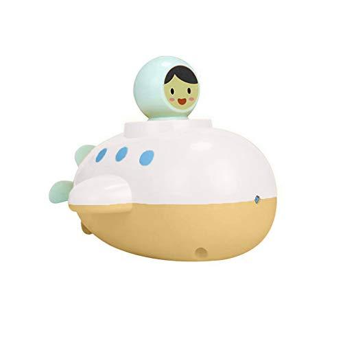 Mitlfuny Schwimmenden Boot Badespaß Zeit Großes Geschenk Bath Toys für Baby,Baby-U-Boot, das Spielzeug-Kinderuhr-Wasser-Spray spielt Badezimmer-Spielwaren badet