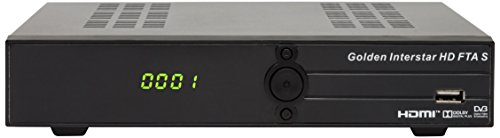 Golden Interstar HD FTA S Satelliten-Receiver (Full HD, 1080p, DVB-S2)