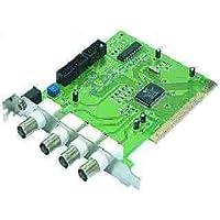 KesCom® PG104 Videokarte Capture Card PCI mit 4 BNC Eingänge