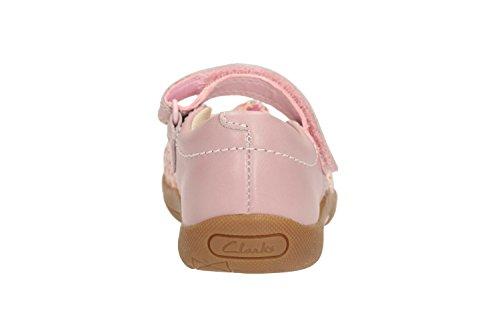 Clarks–0584/36F Binnie Nia Inf (Rose Pâle) Rose - Rose bébé