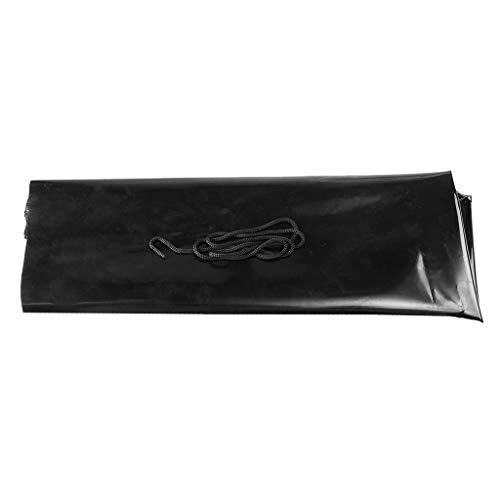 F Fityle Schwarz PVC Hitch Abdeckung Anhängerkupplung Lock-Unterwassergehäuse Cover