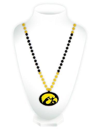 Unbekannt NCAA Perlen mit Medaillon, Herren Unisex, Iowa Hawkeyes