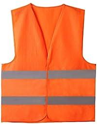 Cofra Cofra Warnweste Clear V073-1 Warnschutz Weste in Signalfarbe orange 40-00V07301-XXXXL