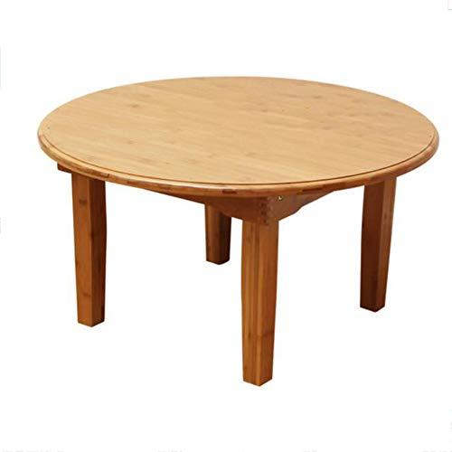 JU FU Klapptisch - Quadratischer Klapptisch, Bambustisch aus Massivholz - Kleiner Couchtisch/Niedriger Tisch/Bodentisch / Tatami Tisch [Auswahl in Mehreren Größen] | (größe : 60X27cm)
