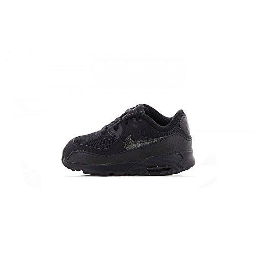 new concept 6c0ab c2fd6 Nike Air Max 90 Mesh Bébé Noire Noir 22