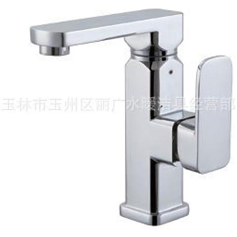Furesnts casa moderna cucina e il lavandino del bagno rubinetti in lega di zinco rubinetto per lavabo in puro rame rubinetto,(Standard G 1/2 tubo flessibile universale