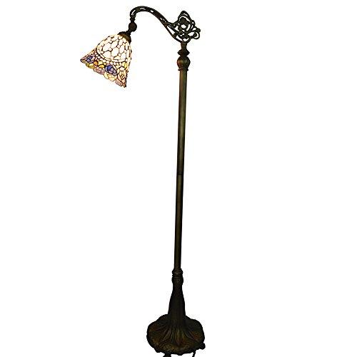 lampadaire-vintage-shade-vitrail-et-sculpte-metal-base-nuomeijur-nmj082