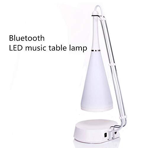 MCBQ Modern Multifunktion Berühren Sie LED-Musiktischlampe Kreative Bluetooth Schreibtischlampe USB-betrieben Nachtlicht