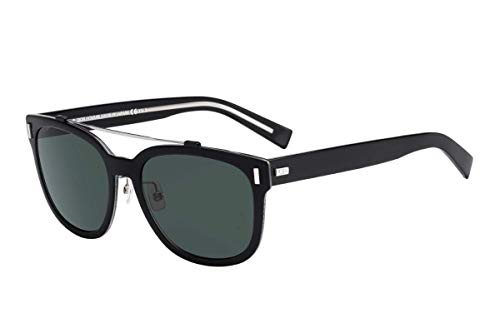 Dior Homme Für Mann Blacktie2.0s H Black / Green Kunststoffgestell Sonnenbrillen