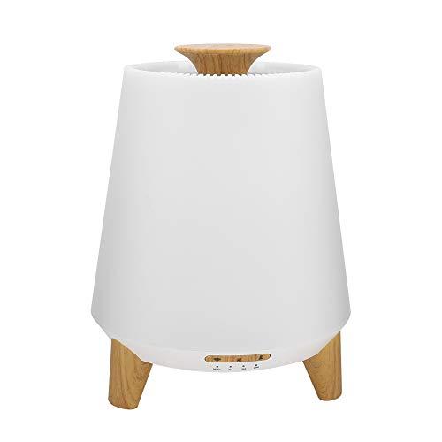 ViaGasaFamido Smart Ultrasonic Cool Mist-Luftbefeuchter Aromatherapie Duftöl-Verdampfer Premium-Diffusor für ätherische Öle Reinigt mit Musik(EU Plug) - Premium Duftöl Diffusor