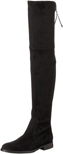 Buffalo London Damen 2870 Micro Strech Stiefel Schwarz (Black 01) 42 EU