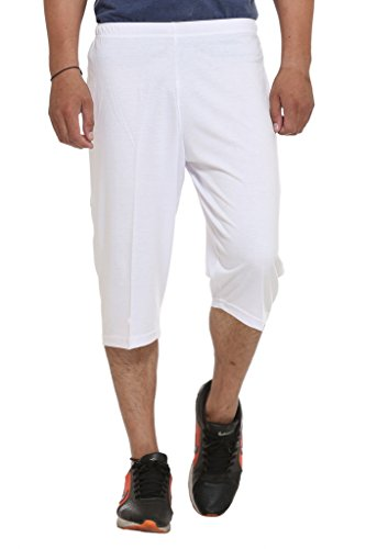 Vimal Cotton Blended Printed Shorts And Capri For Men (pack Of 2)