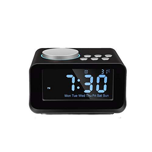 CXWJD Reloj Despertador Reloj Despertador electrónico