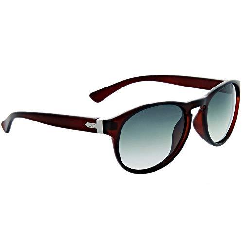 Optic Nerve Firefly Polarisierte Damen Sonnenbrille-matt Kristall Schokolade Rahmen mit polarisierten Smoke Fade Objektiv