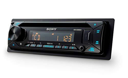 Autoradio (CD-Player, USB/AUX-Eingang, 4x 55 W, Extra Bass) Mehrfarbig ()