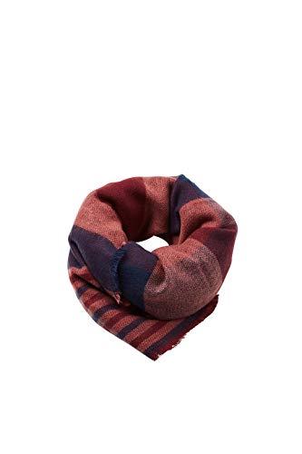 ESPRIT Accessoires Damen Schal 098EA1Q005, Rot (Garnet Red 620), One Size (Herstellergröße: 1SIZE)