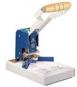 LMG M70 - Sistema de encuadernación, color azul