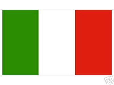 Grand drapeau de l'italie, 150 x 250 cm
