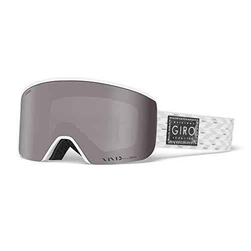 Giro Ella Skibrille, White Silver Shimmer, M