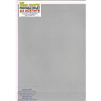 photograph relating to Printable Acetate named Printable Inkjet A4 Acetate Movie x 5 Sheets - UKCC0227