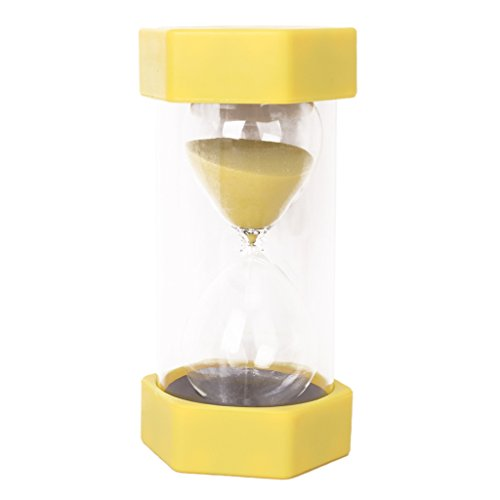 Imported Security Timer Hourglass 30 Minutes -Yellow