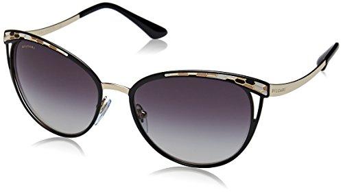Bulgari Damen 0Bv6083 20188G 56 Sonnenbrille, Schwarz (Black/Grey),