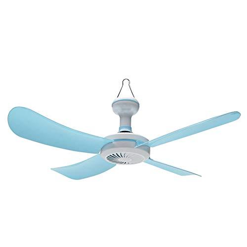 SXJ Mini Deckenventilator Tischventilator Für Camping Pavillon Im Freien, Mini Hanging Camper Zelte Fan, Mini Decken Kühlen Ventilator -