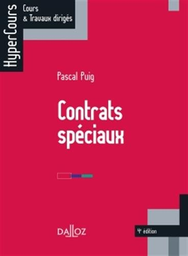 Contrats spciaux - 4e dition: HyperCours