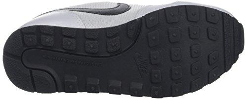 Nike Md Runner 2 (Psv), Scarpe da Ginnastica Bambino Grigio (Wolf Grey/Blk-Ttl Crmsn-White)