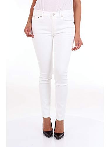 Polo Ralph Lauren Jeans Donna Mod. 211-683971 Bianco 27 - Ralph Lauren Denim Weiß