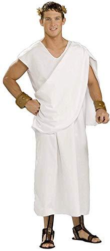 Forum Novelties Kostüm Toga, weiß (Forum Weiße Kostüm)