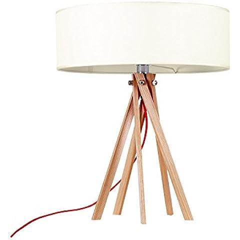 Lámpara RINGO HAYA -Sobremesa--Blanco-Unica