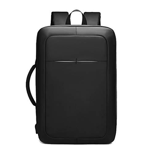 Laptop-Rucksack 17-Zoll-Reiserucksack mit USB-Ladegerät Port Wandern Rucksack Männer und Frauen Modelle Wasserdichte College Business Rucksack Camping Reisen Wandern