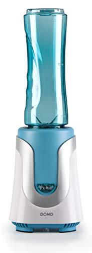 Domo DO481BL - Licuadora (0,6 L, Batidora de vaso, Azul, De plástico, 300 W, 225 mm)