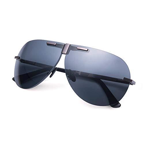 Unisex Titanlegierung Hochauflösende polarisierte Gläser für mehr Sicherheit im Straßenverkehr UVA- und UVB-Schutz Verringern Sie Augenbelastung und Kopfschmerzen ( Farbe : Mehrfarbig , Größe : Free )
