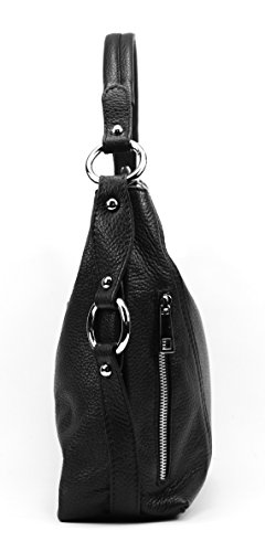 OH MY BAG S, Borsa a spalla donna Compatto nero