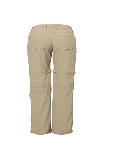 VAUDE, Pantaloni Donna Womens Farley Zo Pants IV Fango