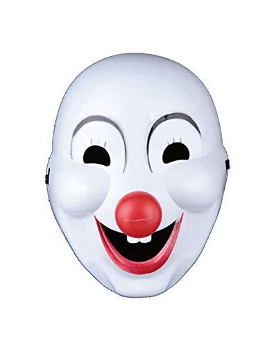 MILAYA JI Bin Shop® Halloween Maske Clown Dress Up Maske Maskerade Kinder Lustige Gesichter Erwachsene Unisex + (Clown Lustig Halloween)