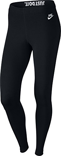 Nike-fitness-studio (Nike Damen Oberbekleidung Leg A See Just Do It Tights, schwarz, XL, 726085-010)
