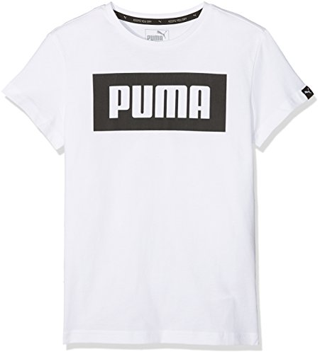 PUMA Kinder Rebel Tee Shirt, Puma White, 152 (Rebel Kind Shirt)