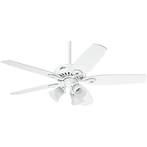 Hunter Fan 50560 Builder Plus Ventilatore da soffitto con luce,