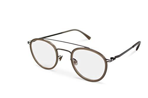Mykita Brille Brillenfassung OLLI 943 Shiny Graphite/Taupe (47-25)