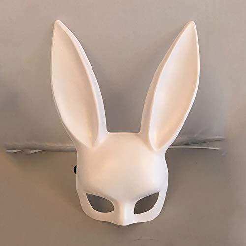 WEISY Lustige hase Ohr Maske für Halloween Kleid Ball Maske bar ktv Nachtclub Festival Party Haarband kostüm