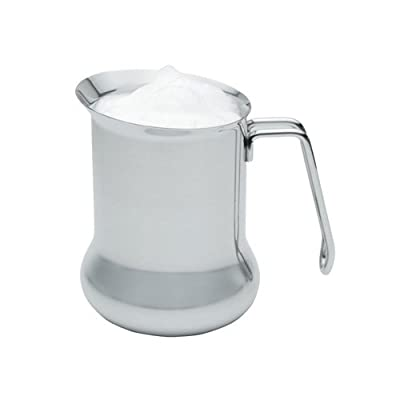 "KitchenCraft 650 ml""Le Xpress"" Milk Frothing Jug, Stainless Steel, Silver, 9 x 12 x 16 cm"