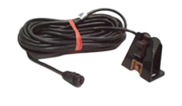 Lowrance Geschwindigkeit und Temperatur Sensor ST-TBK mit schwarzem Stecker