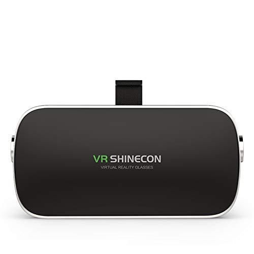 Evin Virtual-Reality-Brillen VR-Headsets, VR-Brillen für TV, Filme und Videospiele - 3D-VR-Brillen für iOS, Android und andere Telefone von 4,7 bis 6,0 Zoll