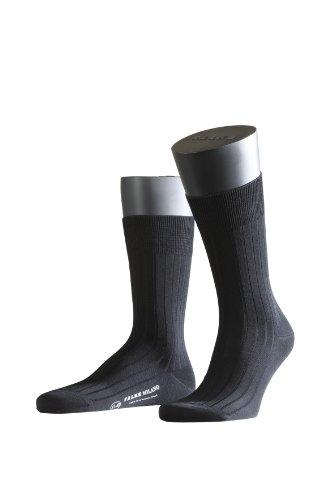 FALKE Herren Socken 14683 Milano Business SO, Gr. 41/42, Schwarz (black)