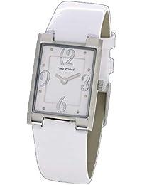 Time Force Reloj Analógico para Mujer de Cuarzo con Correa en Cuero  TF4066L11 81747dacb8c0