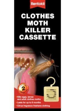 Rentokil Lot de 12 Paquets de 2 anti-mites à suspendre